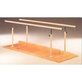 Paralelas base madera 2 mts