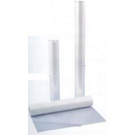 Rollo plástico envolvente 100 micras 50+50cm x 80m