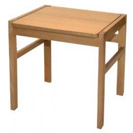 Taburete de madera (banqueta) 43x42x45cm