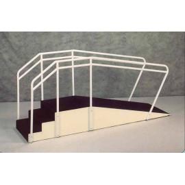 Escalera con rampa para niños 60x250cm