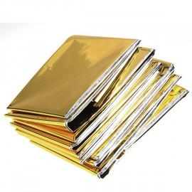 Manta Termica Rescate Plata-Oro