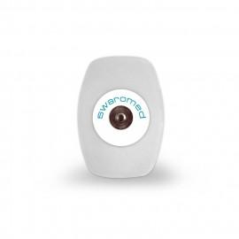 Electrodo ECG Pregelado 36x50mm (Boton)