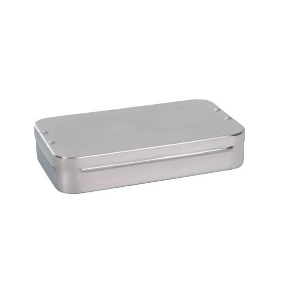 Caja curas acero inox. 30cm