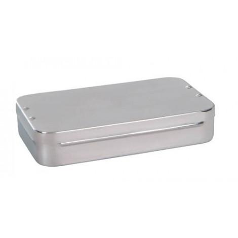 Caja curas acero inoxidable 30x12.5x6cm