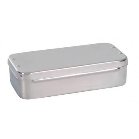 Caja curas acero inox. 20cm