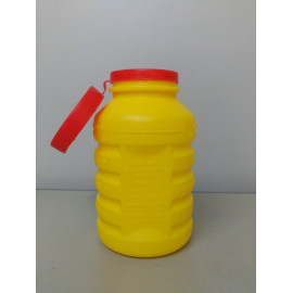 Contenedor agujas- material biocontaminado 1L