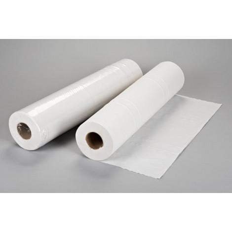 Papel camilla bicapa Tissue 58cmx80m sin precorte