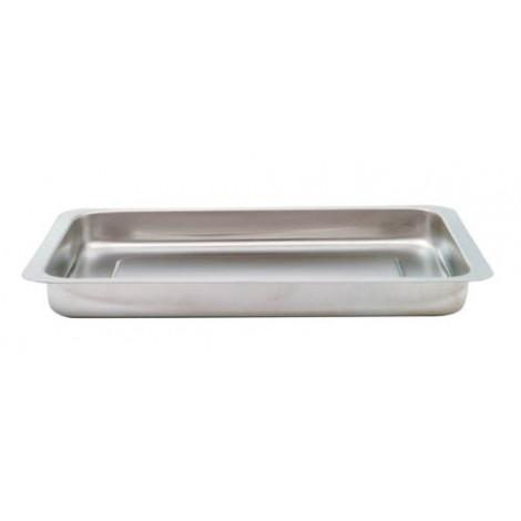 Batea acero inox. 35 x 25 x 3 cm