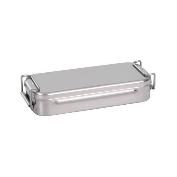 Caja curas acero inox. con asa 18cm