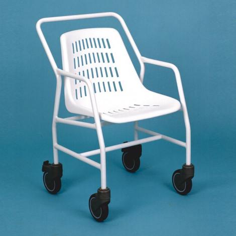 Silla de baño con ruedas