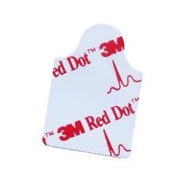 Electrodo ECG pregelado 3M RED DOT