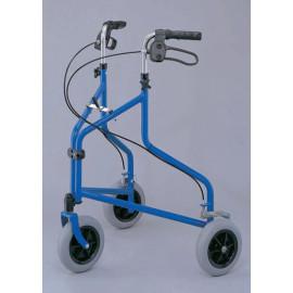 Andador DELTA con ruedas plegable