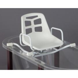 Asiento de bañera Giratorio en acero Inoxidale
