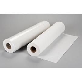 Papel camilla bicapa PLASTIFICADO Blanco 58cm x80