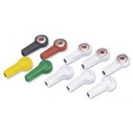 Adaptador boton 4mm -juego de 10un.