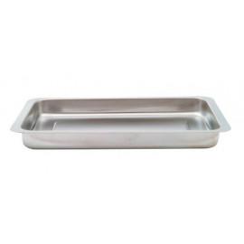 Batea acero inox. 23 x 15x 3.5 cm