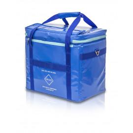 Bolsa isotérmica, tarpaulin. Azul.