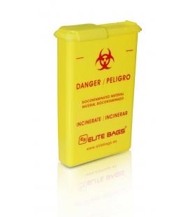 Contenedor agujas- material biocontaminado de Bolsillo